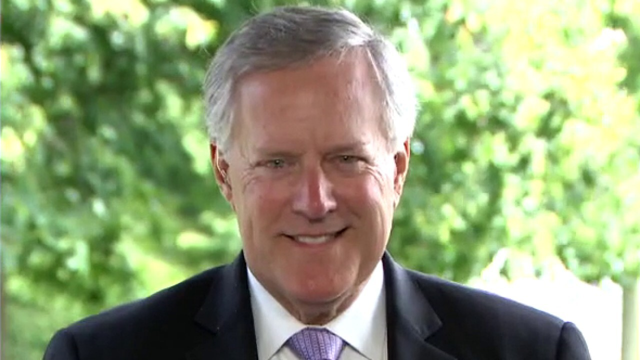 Mark Meadows on mail-in ballot battle, Trump administration response to COVID pandemic