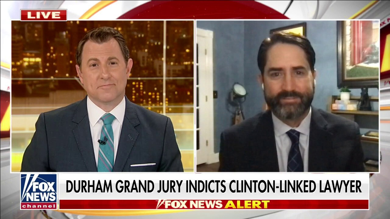 Grand jury indicts Clinton campaign lawyer for allegedly lying to FBI over Trump-Russia collusion investigation