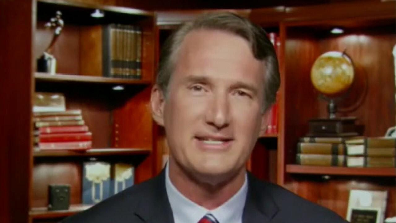 Virginia GOP gubernatorial candidate outlines his message