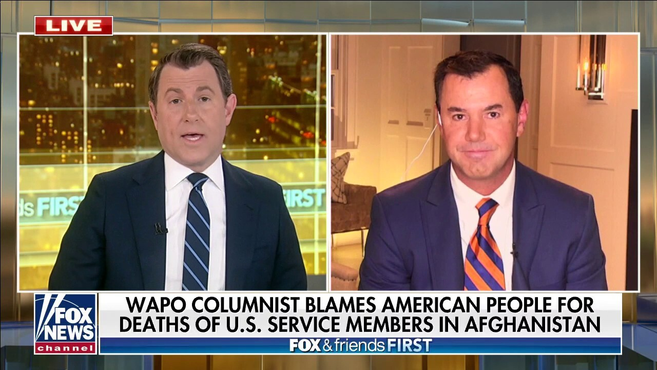 Concha slams Washington Post piece blaming Americans for deaths of US service members