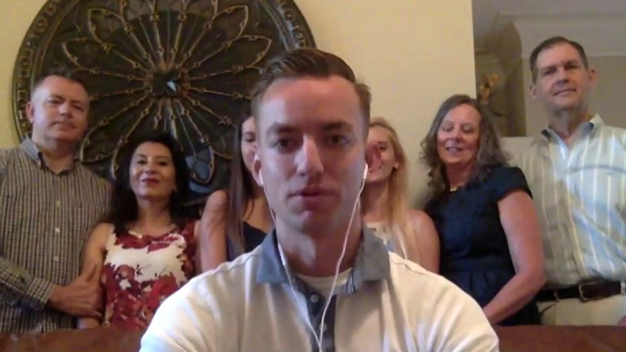 South Carolina soldier who finished his degree while serving overseas returns home to big surprise