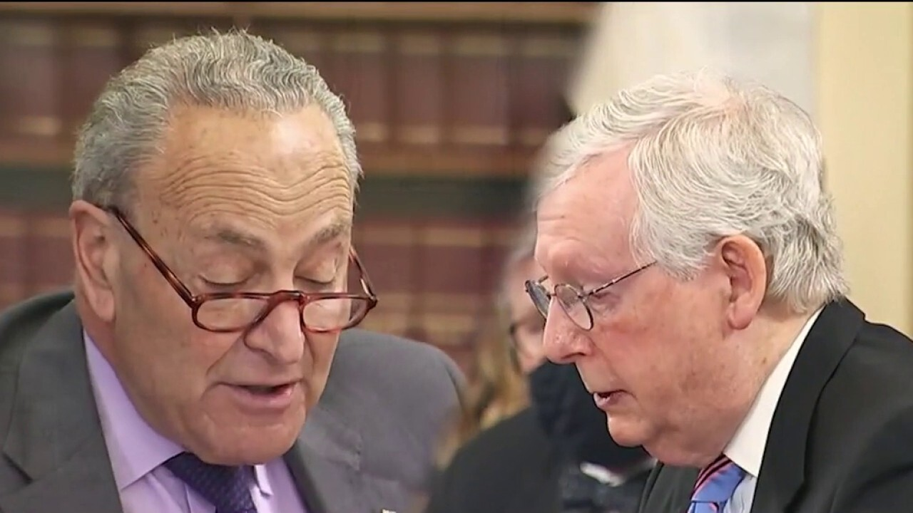 Schumer, McConnell face off in election reform hearing