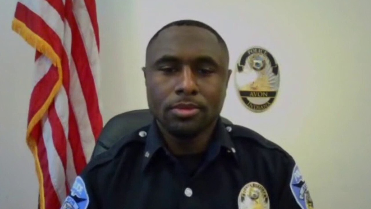 First black police officer in Indiana town speaks out on racial unrest