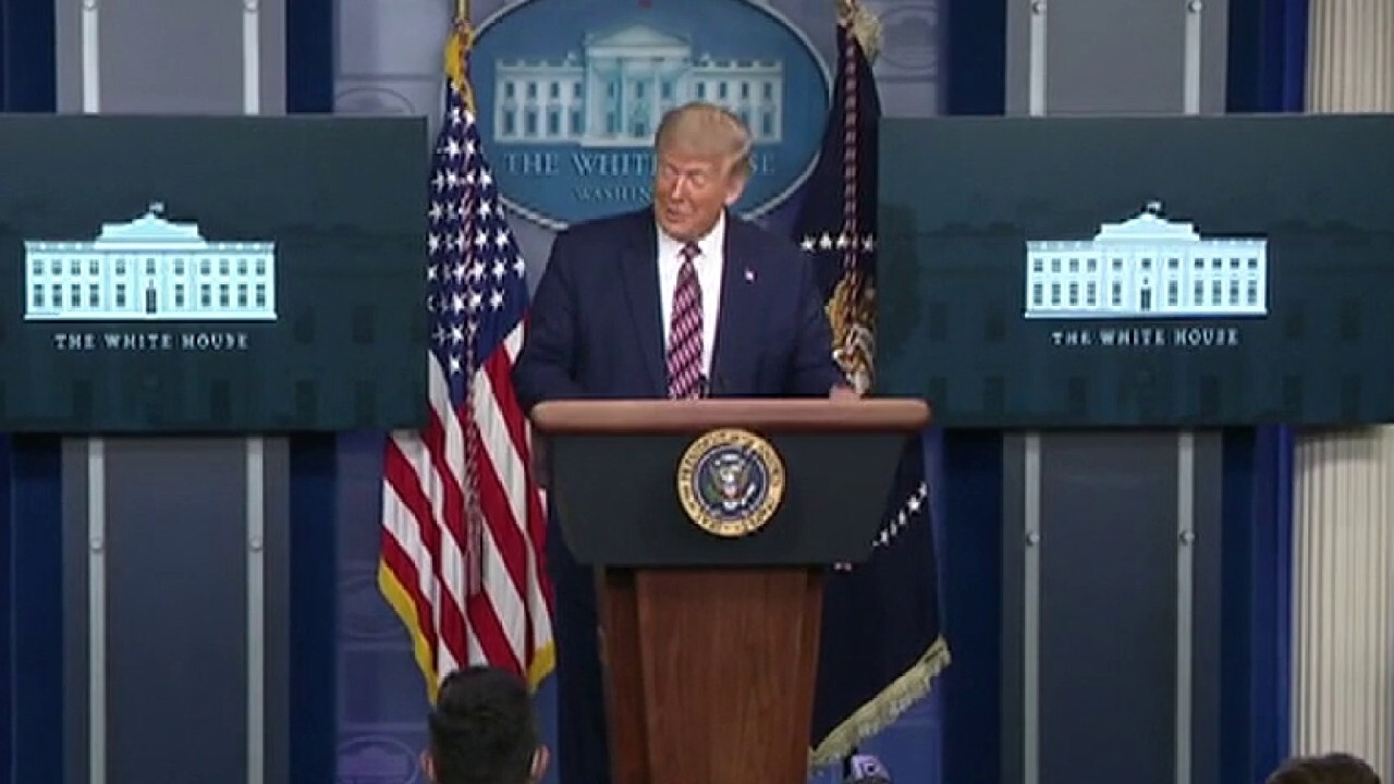 President Trump responds to New York Times story on tax records
