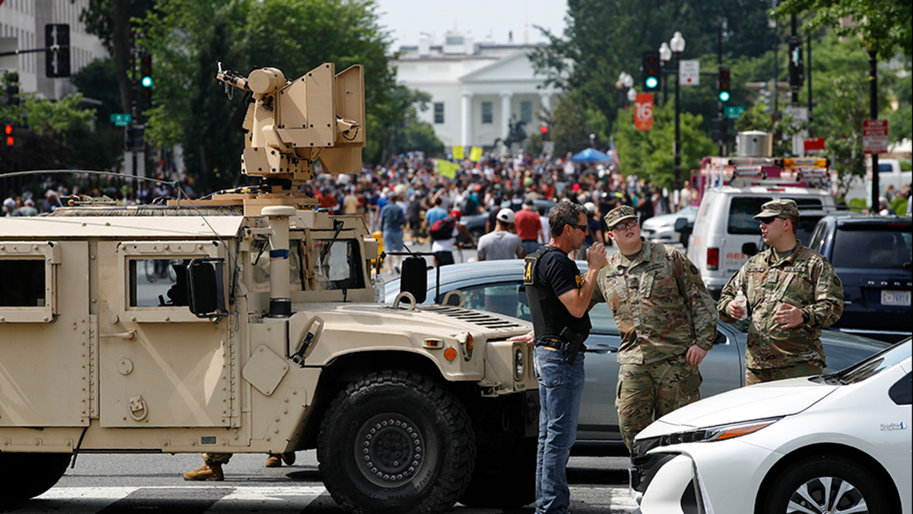 What powers does the president have to use military to quell domestic unrest?