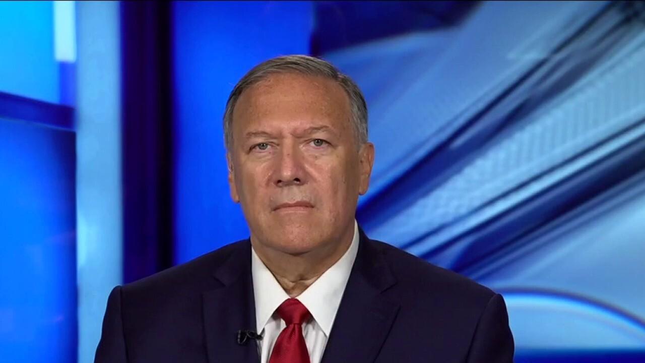Mike Pompeo slams Biden's statement on Afghanistan