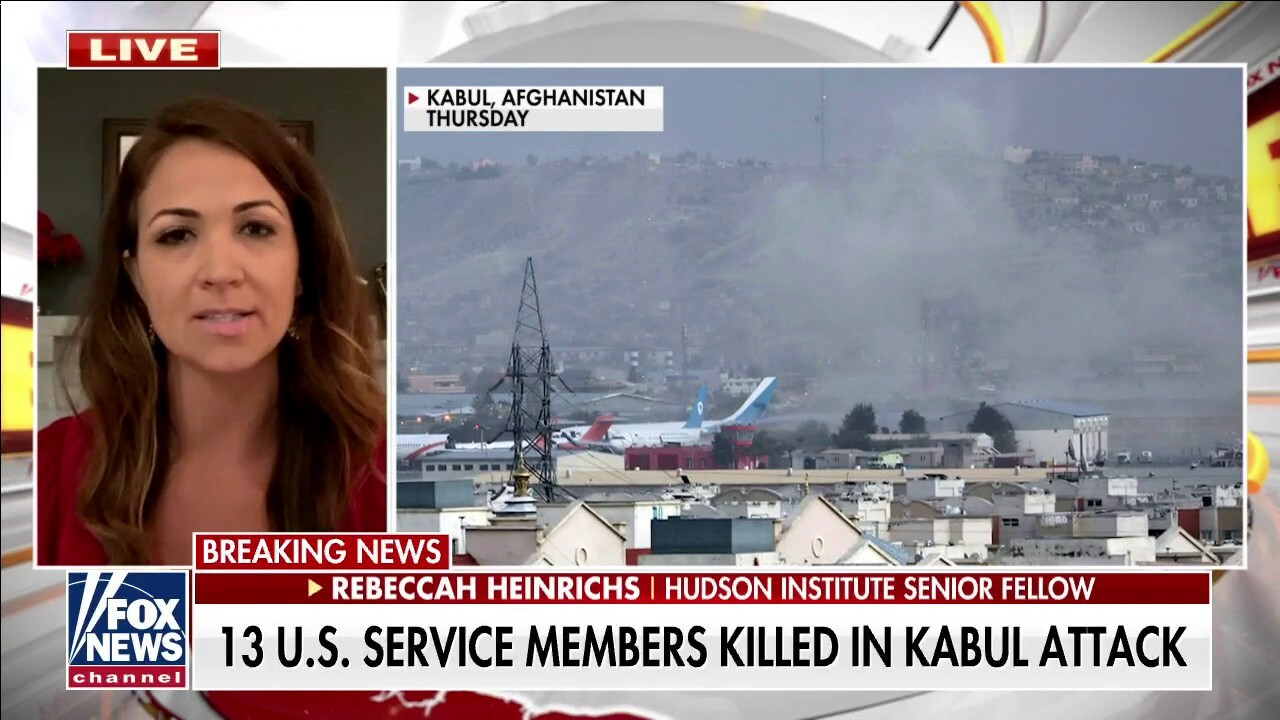 Rebeccah Heinrichs blasts Biden: 'He gave the Taliban a death list of Americans'