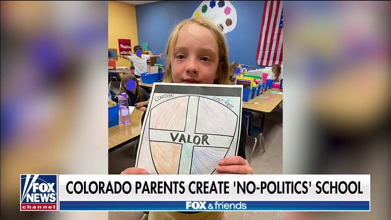Colorado parents create 'no politics' school with focus on traditional studies, character