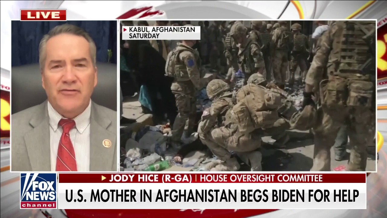 Rep. Jody Hice on Afghanistan: This is a 'gigantic disaster of unmitigated proportion'