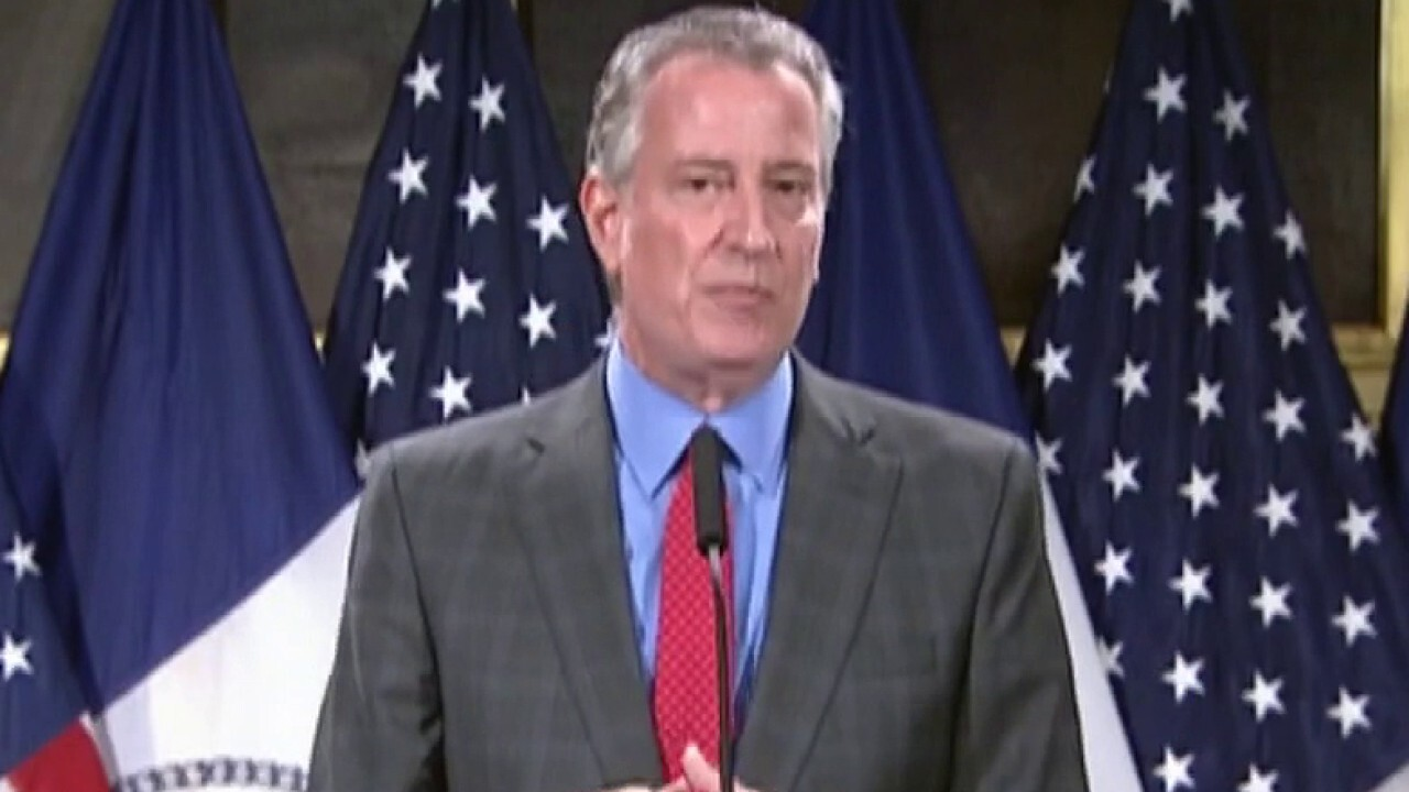 De Blasio blames NYC weekend violence on coronavirus, vows to 'double down' to keep city safe