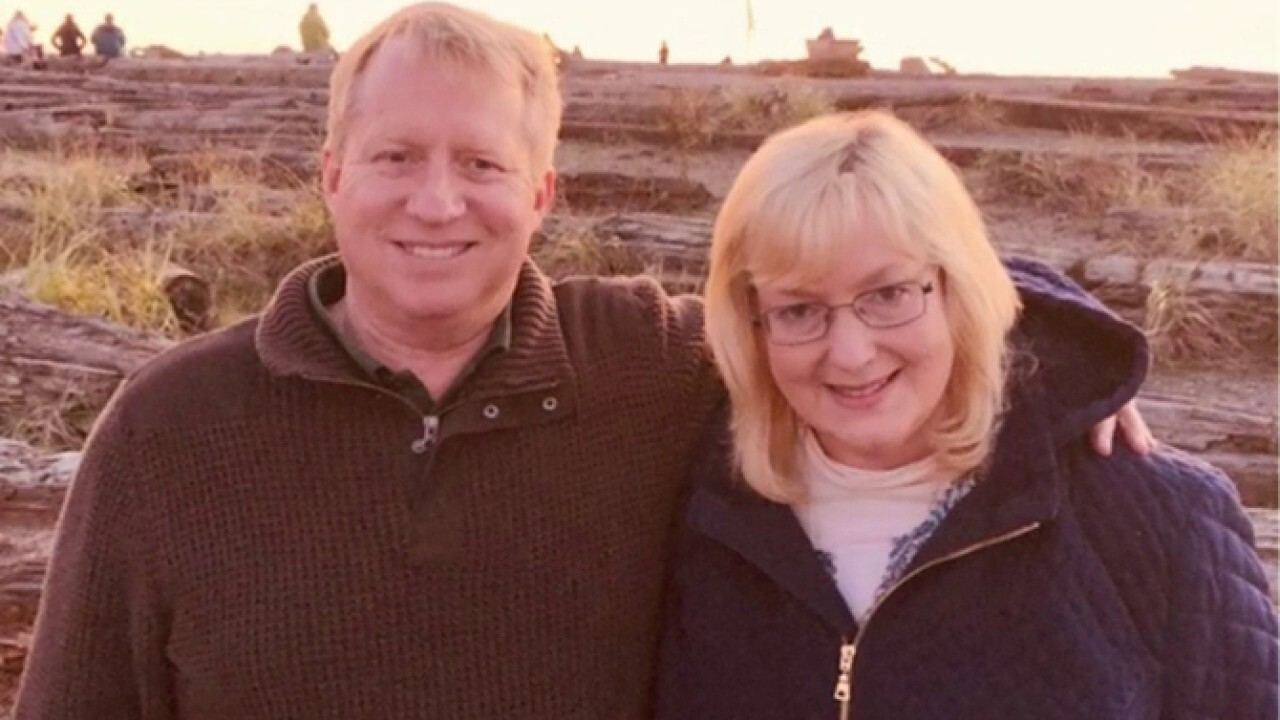 Coronavirus survivor credits experimental drug with saving her husband's life