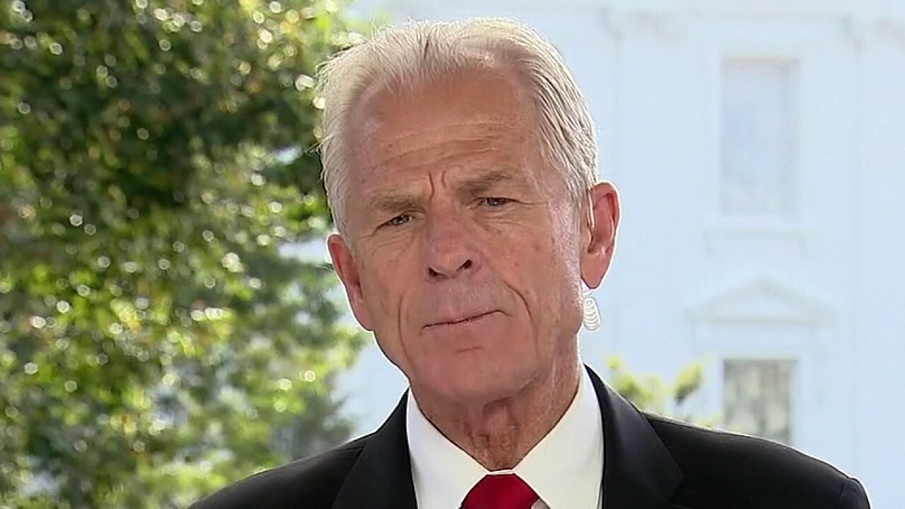 White House trade adviser Peter Navarro joins 'Sunday Morning Futures' to discuss China's support of former vice president Joe Biden and U.S. needing to bring manufacturing back.