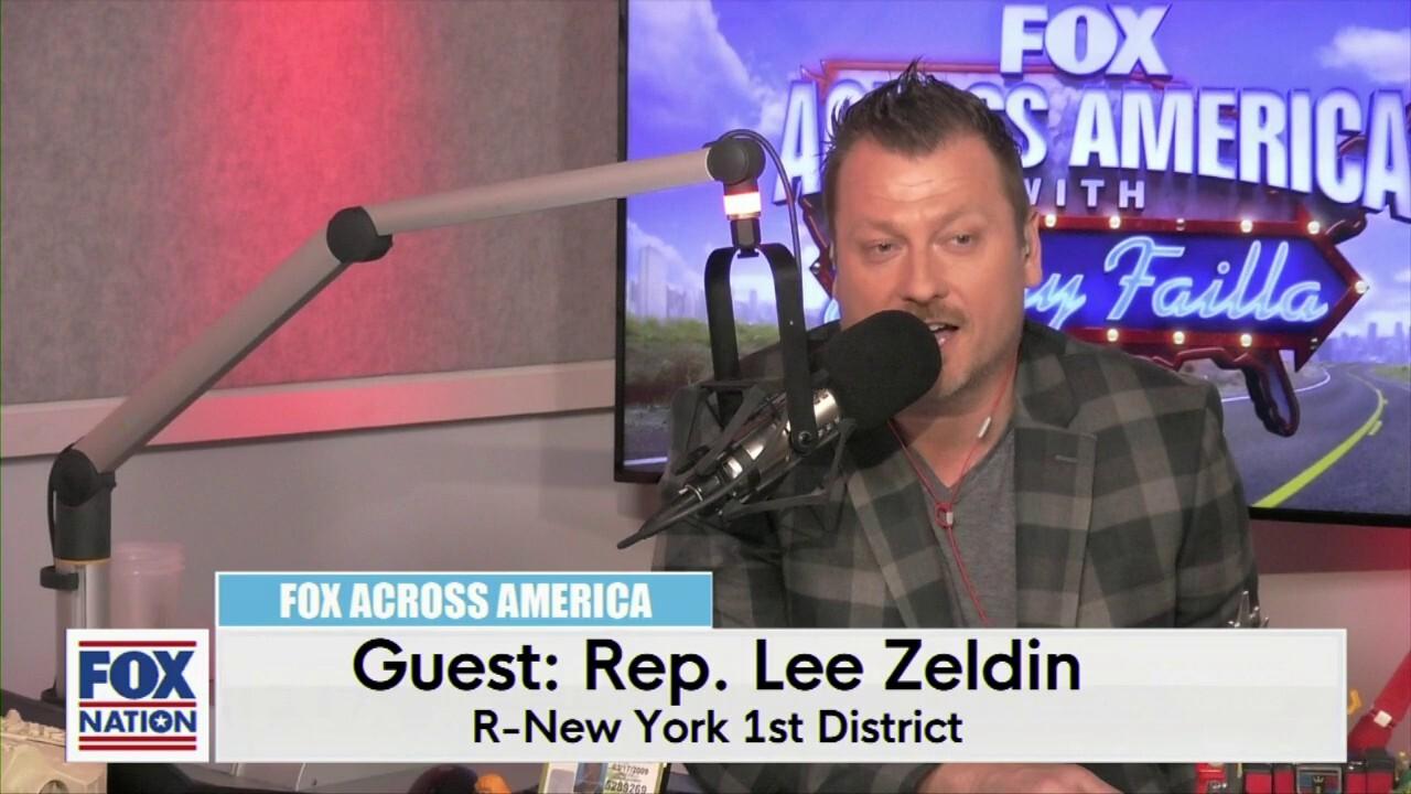 Jimmy Failla and Rep. Lee Zeldin (R-NY)