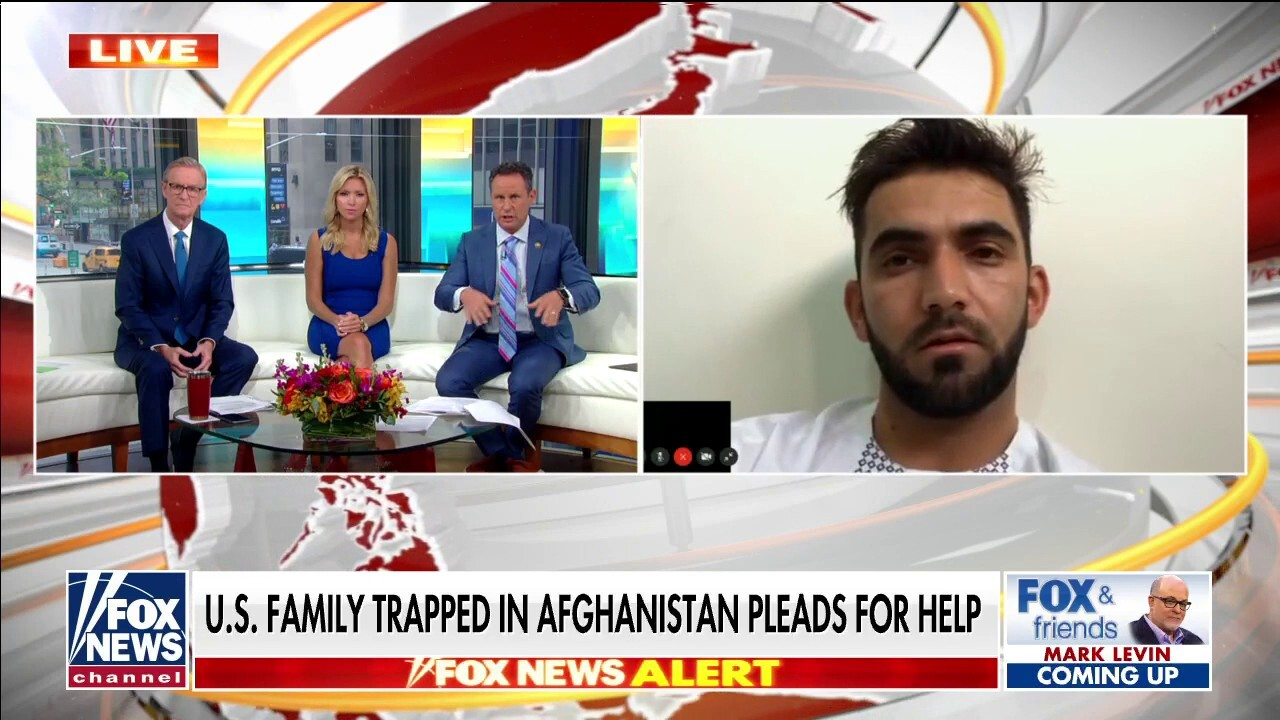 'Everyone is scared': American trapped in Afghanistan speaks out