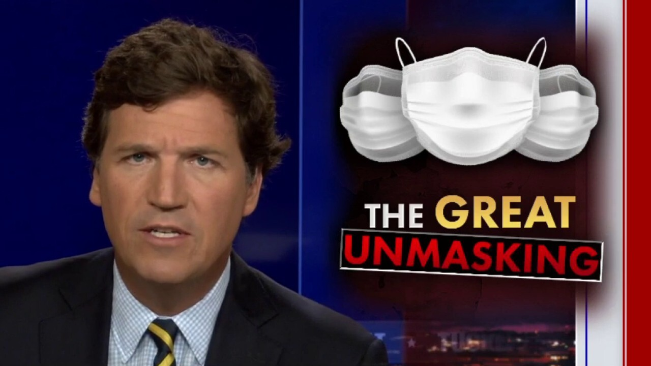 Tucker: Many Americans too scared to ditch their masks
