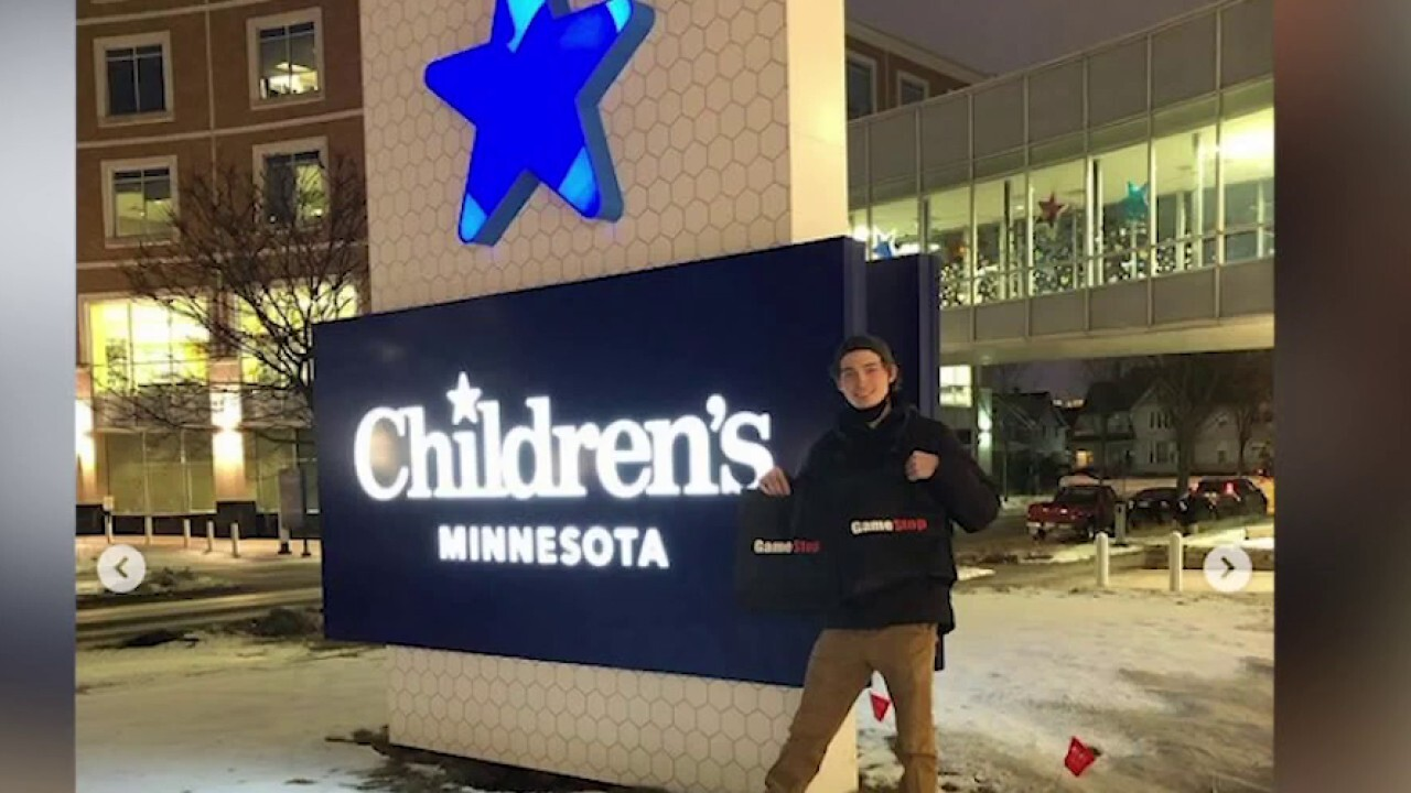 Student donates GameStop stock earnings to MN children's hospital: Money should be used 'for good' - Fox News