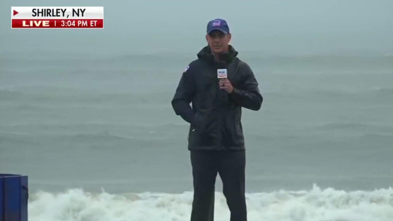 Tropical Storm Henri causes major flooding on Long Island