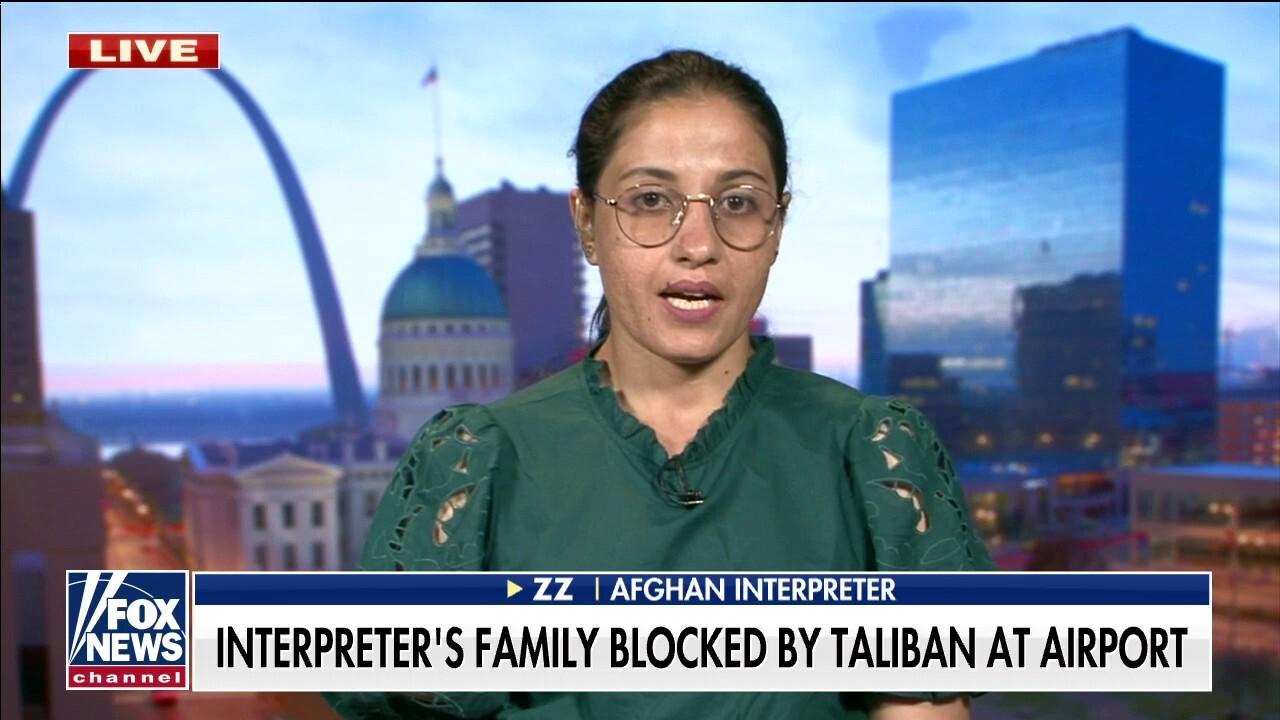 Afghan interpreter says family members 'in hiding' in Kabul as Taliban hunts US allies