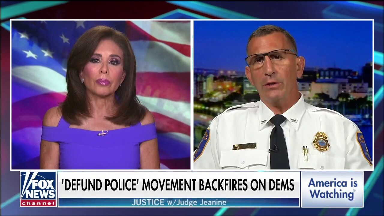 Charleston police chief 'very angry' with defund the police movement
