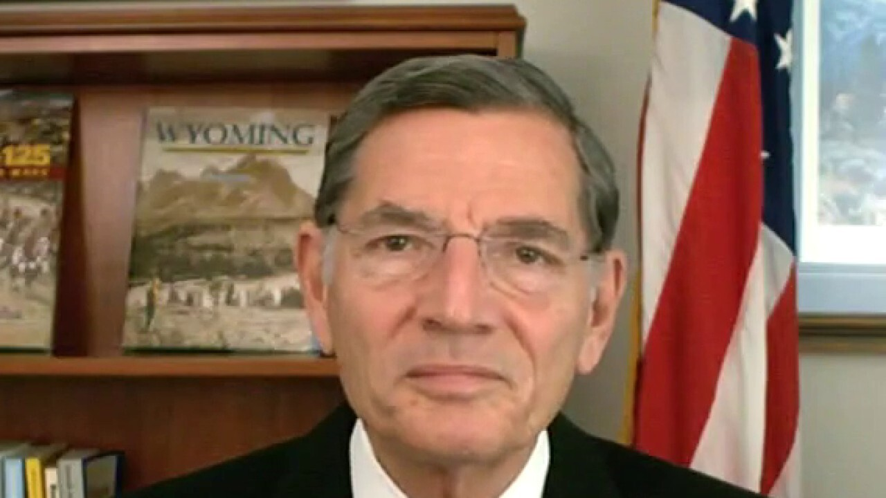 Sen. Barrasso: Price tag of spending bill will be 'much higher' than what Dems admit