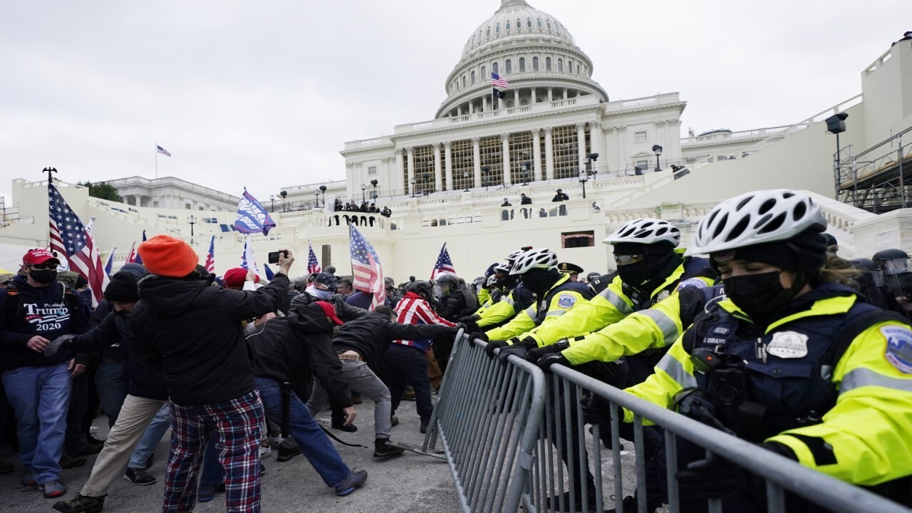Capitol Police under scrutiny after breach