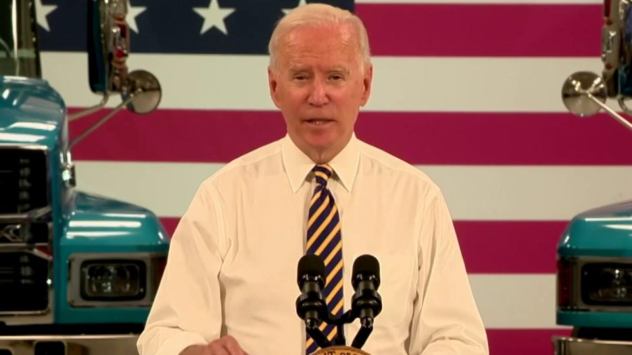 Ingraham: Biden's mumbled words and mixed messaging
