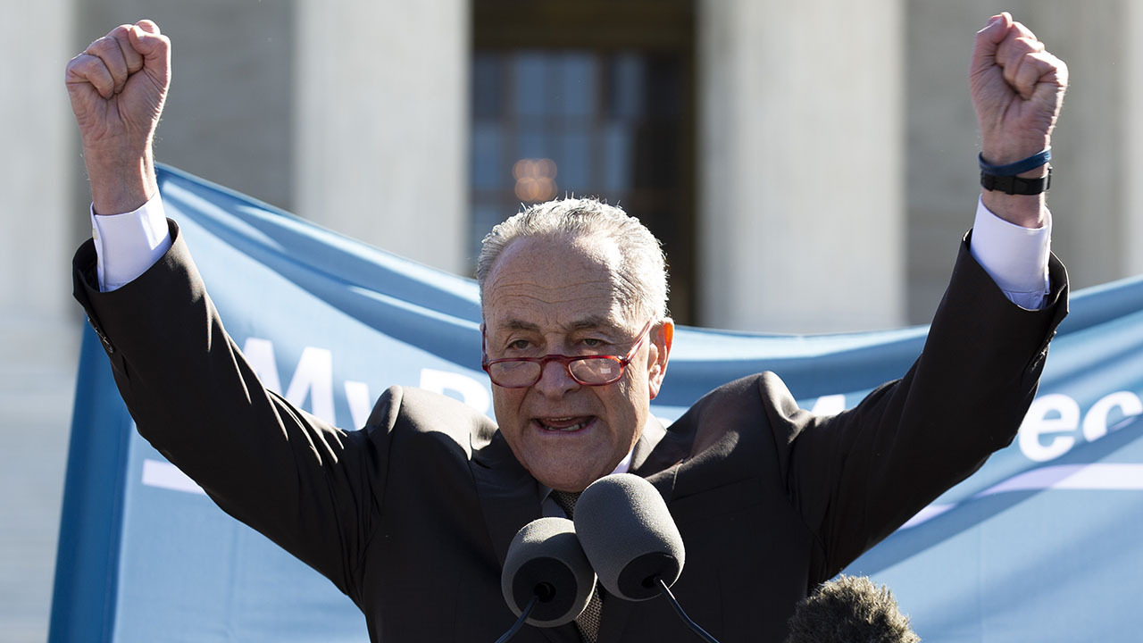 Schumer politicizing the Supreme Court is 'very dangerous,' Judge Napolitano warns