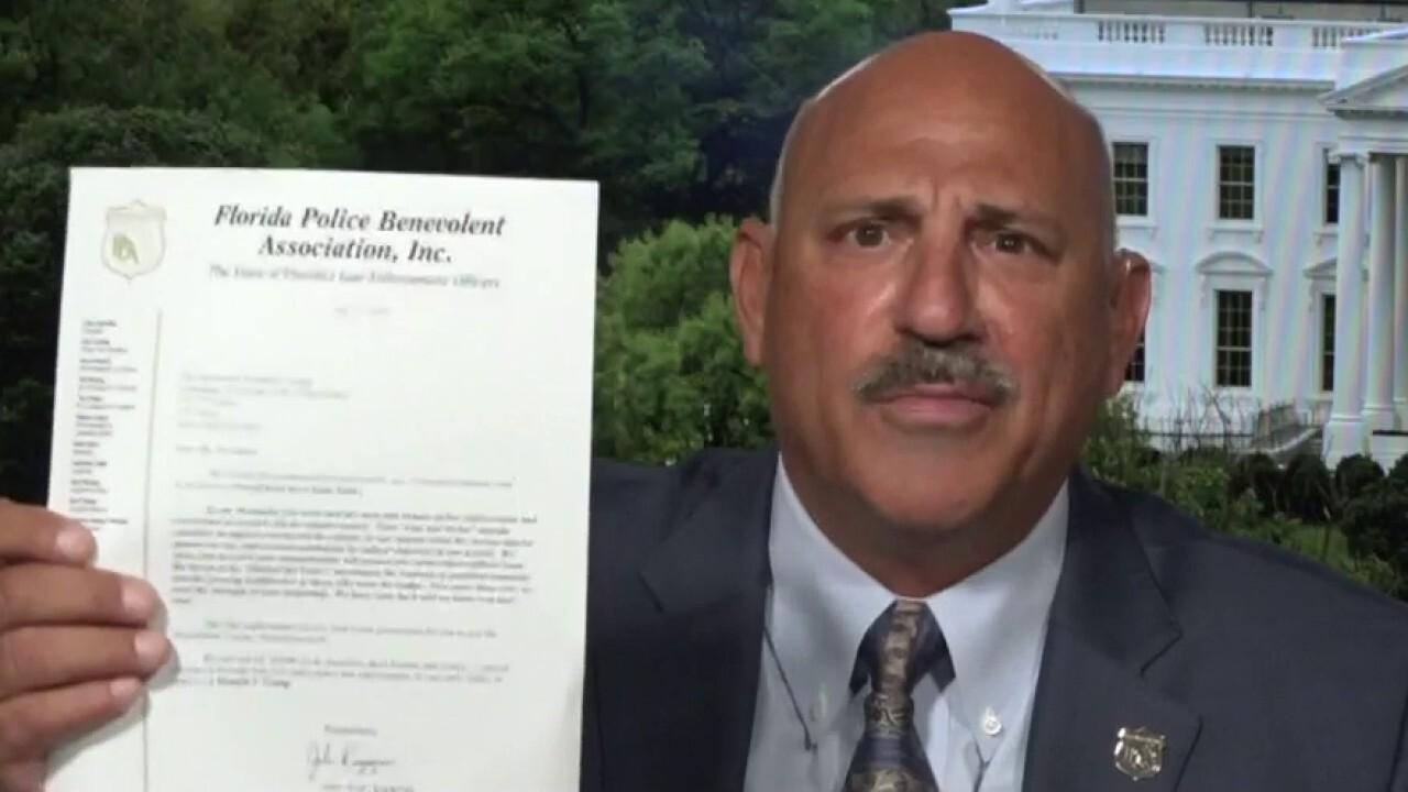 Florida's largest police union endorses President Trump in unanimous vote