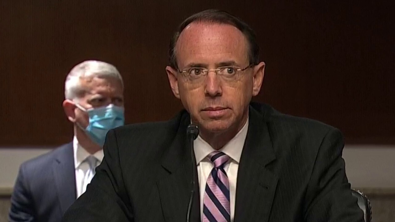 Rosenstein testifies he would not have signed FISA warrant on Trump aide if he knew of problems
