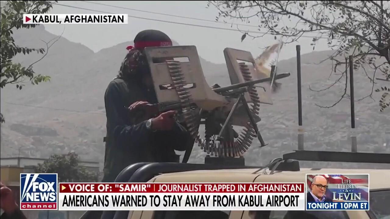 Journalist trapped in Afghanistan fears 'dark days ahead' as US withdrawal nears deadline