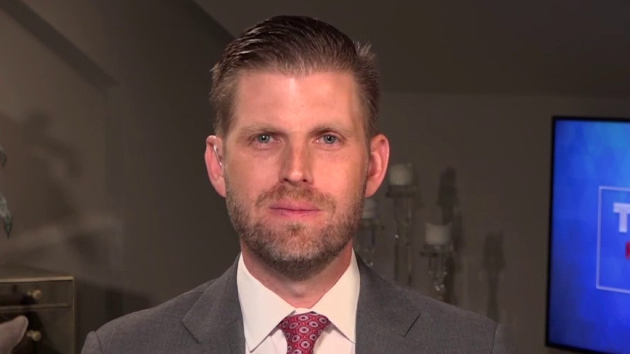 Eric Trump: Biden doesn't have the aptitude to debate my father
