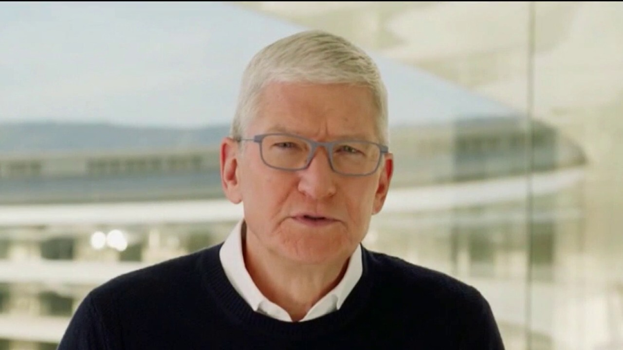 Apple CEO Tim Cook says he hopes the initiative will 'make a big difference' in people's lives. He also defends Apple's suspension of Parler from its app store, saying the app could be reinstated 'if they get their moderation together.'