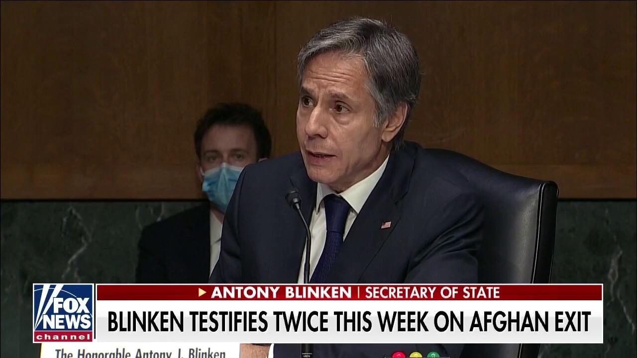 Blinken testifies twice this week on Afghanistan exit