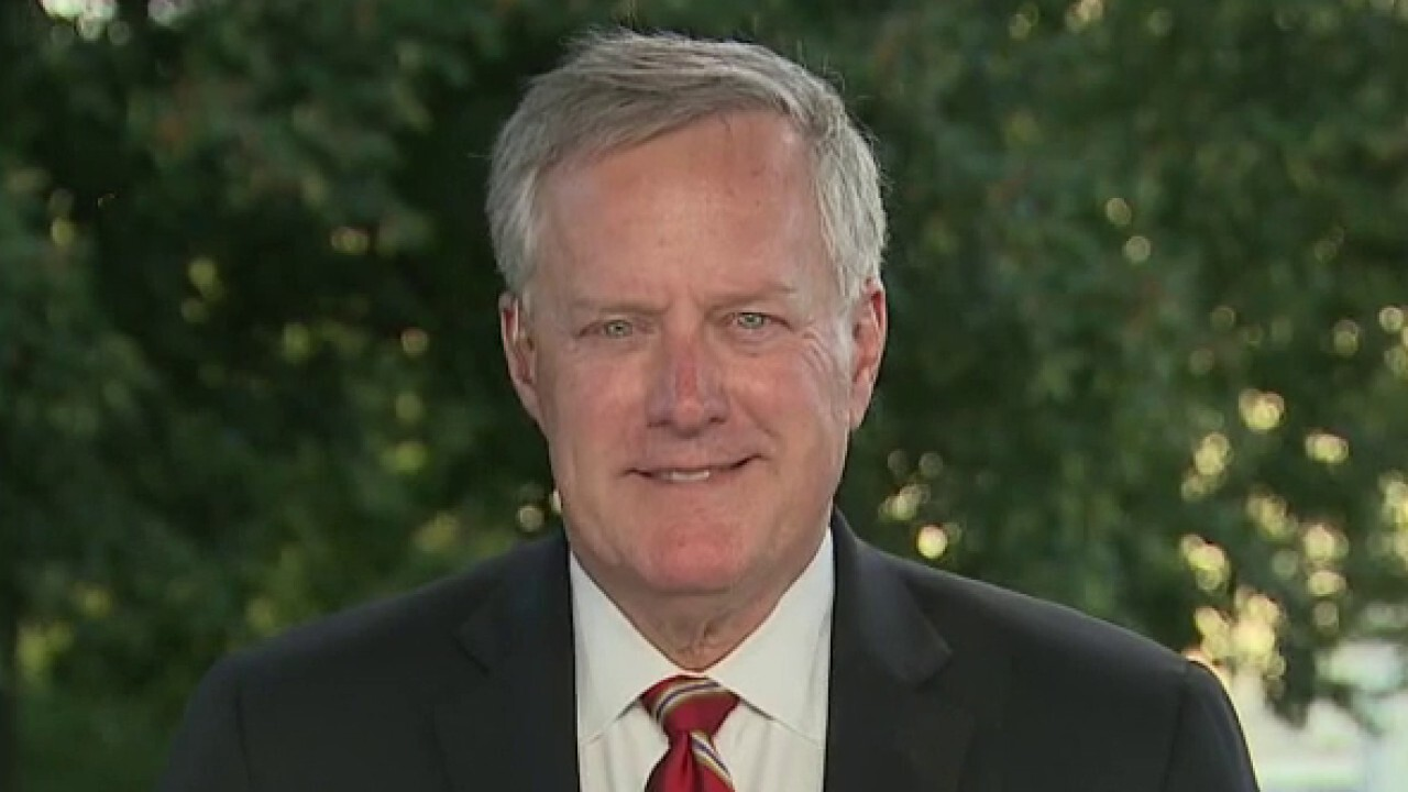 Mark Meadows rejects Joe Biden's claim that President Trump is to blame for rise of violence in America