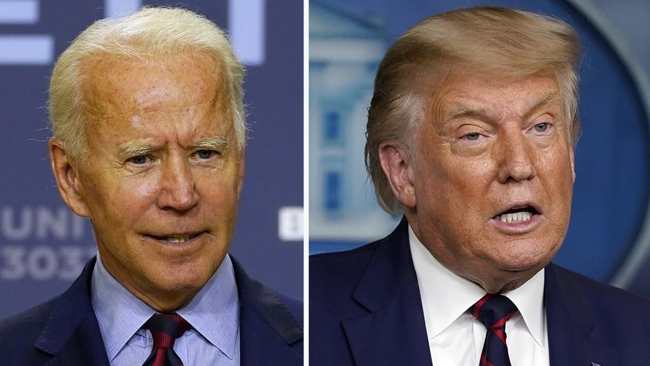 Trump, Biden campaigns duel over economy