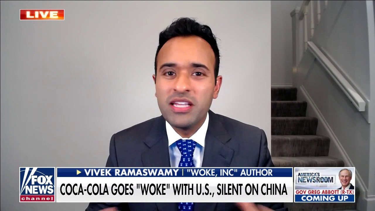 Coca-Cola blows 'woke smoke' to cover up business practices: Vivek Ramaswamy