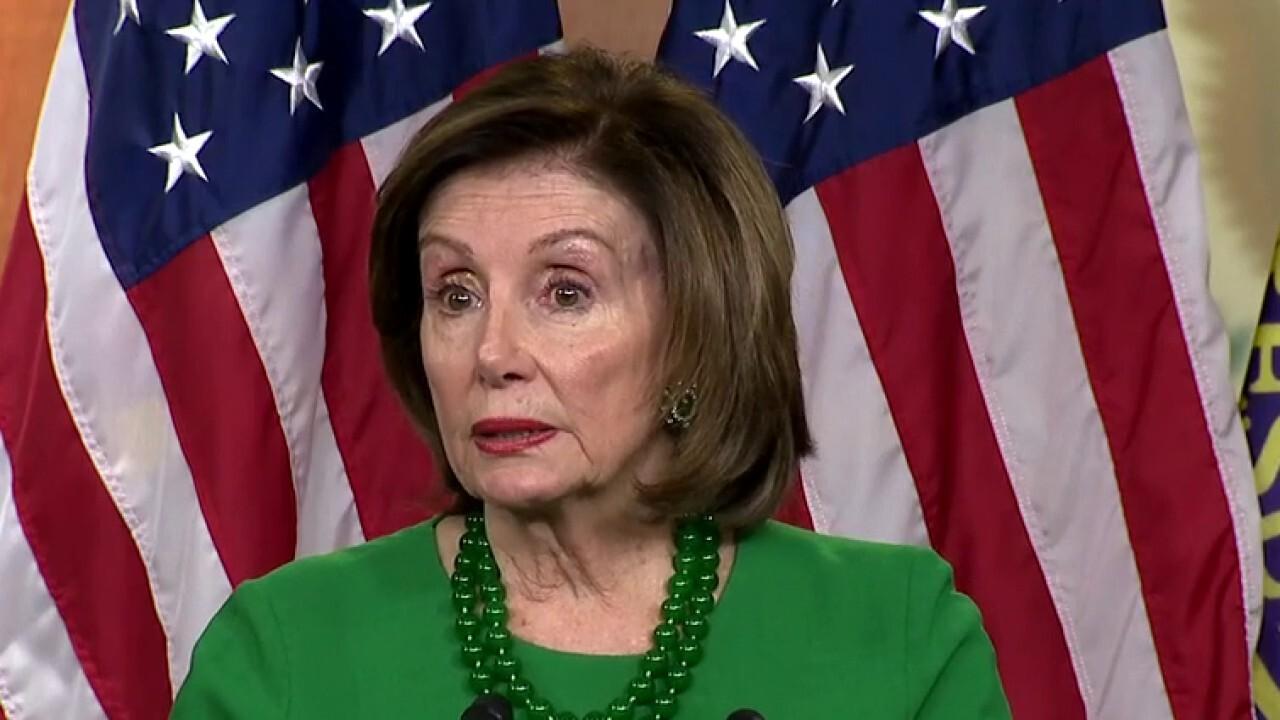 Nancy Pelosi introduces Democrats' 'Families First' coronavirus response