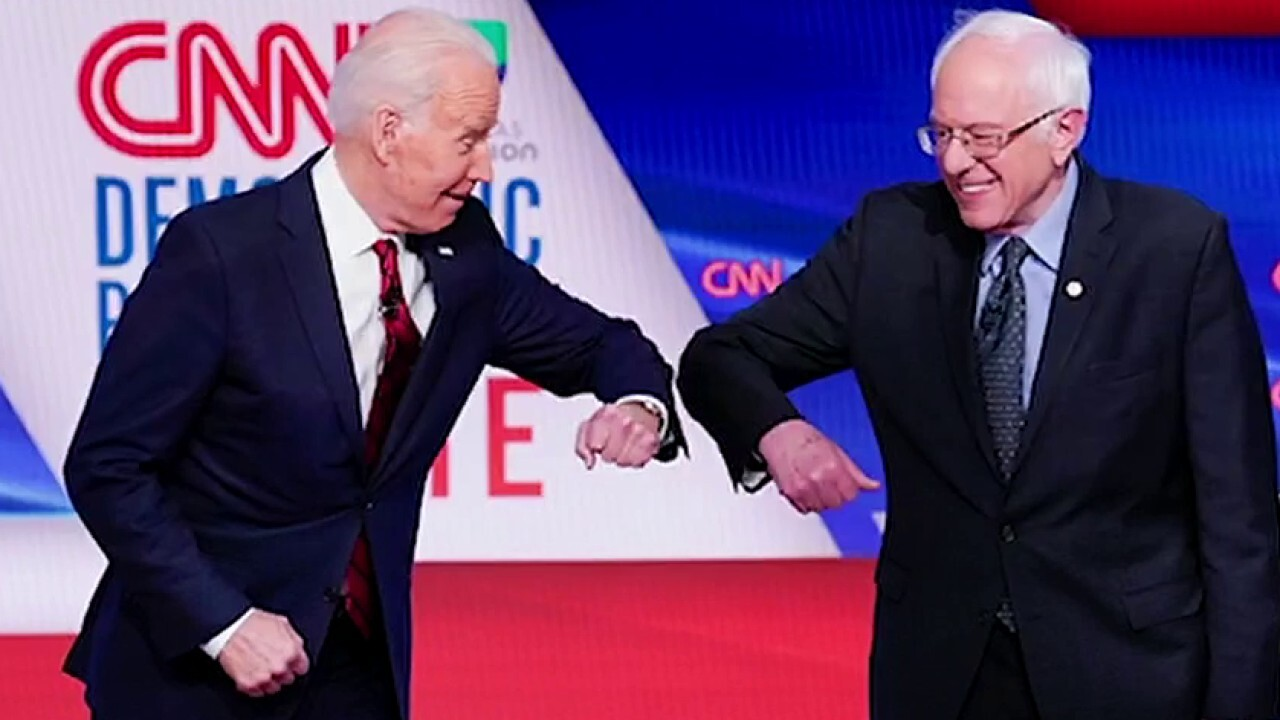 Sanders trying to galvanize progressive support for Biden; Jacqui Heinrich reports.