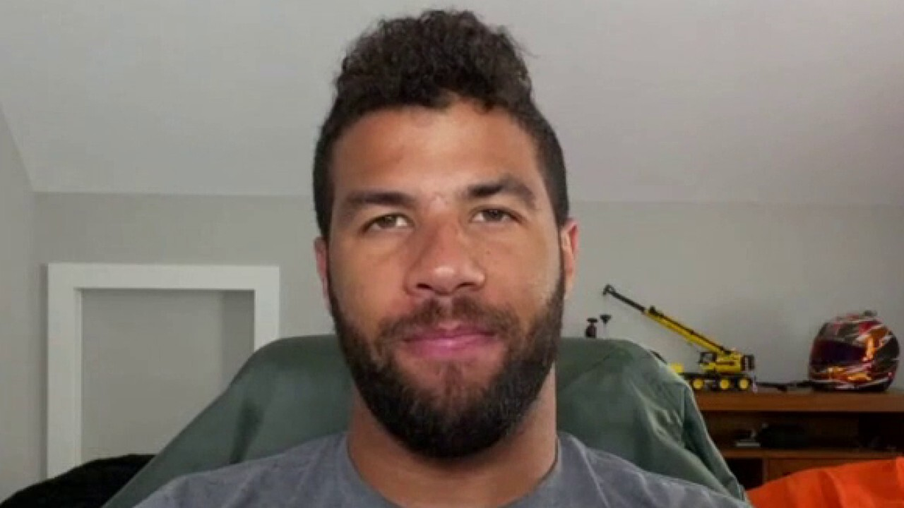 Bubba Wallace defends response to garage noose on 'Watters' World'