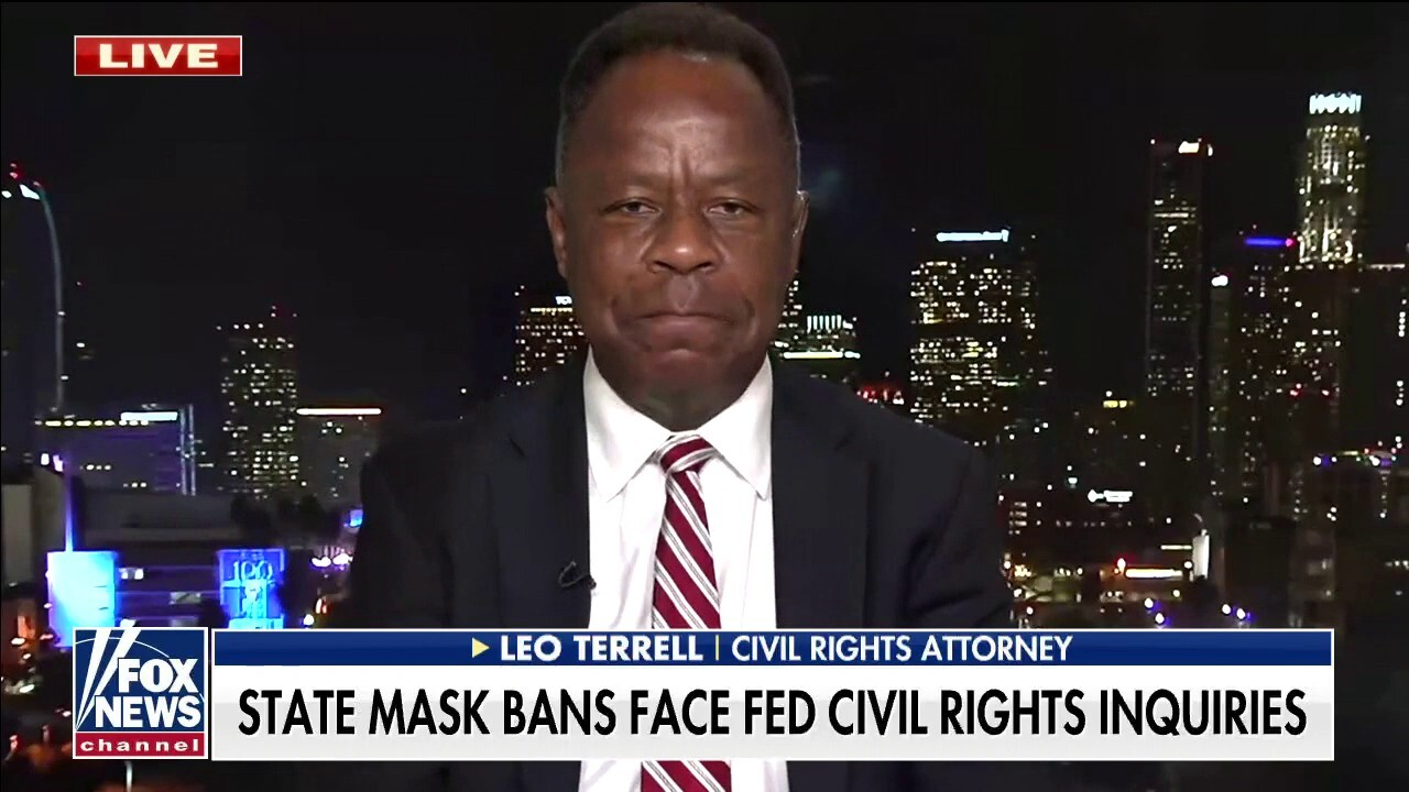 Leo Terrell slams 'political witch hunt' by Biden admin against states opposing mask mandates