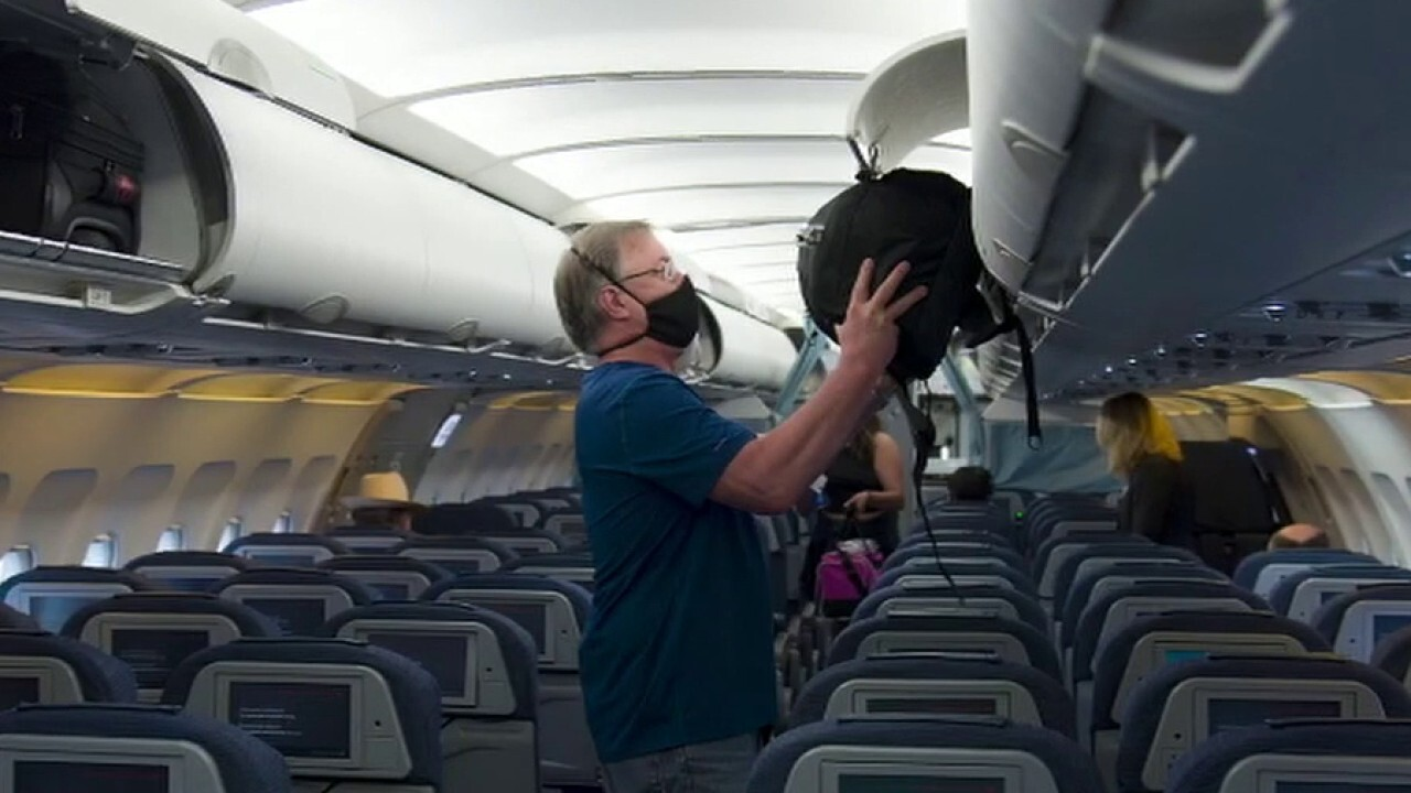 What does air travel look like with new coronavirus restrictions?