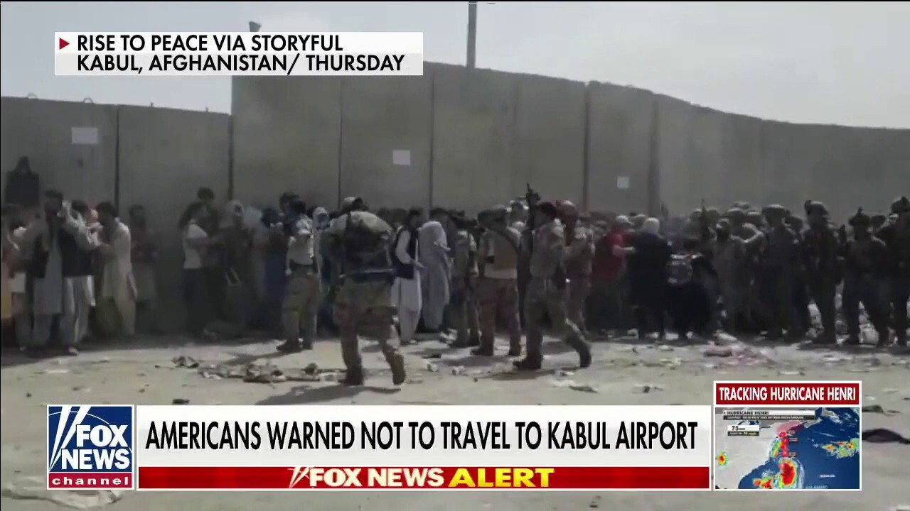 Americans warned not to travel to Kabul airport
