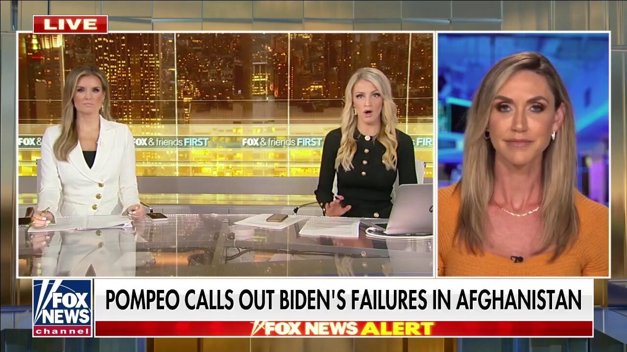 Lara Trump: US looks 'weak in eyes of terrorist organizations, China, Russia, Iran' amid Taliban takeover