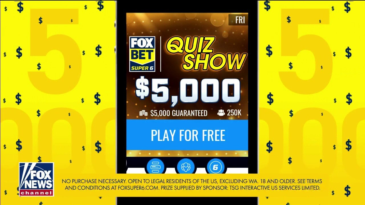 FOX Bet Super 6 Quiz Show offers $5,000 weekly grand prize