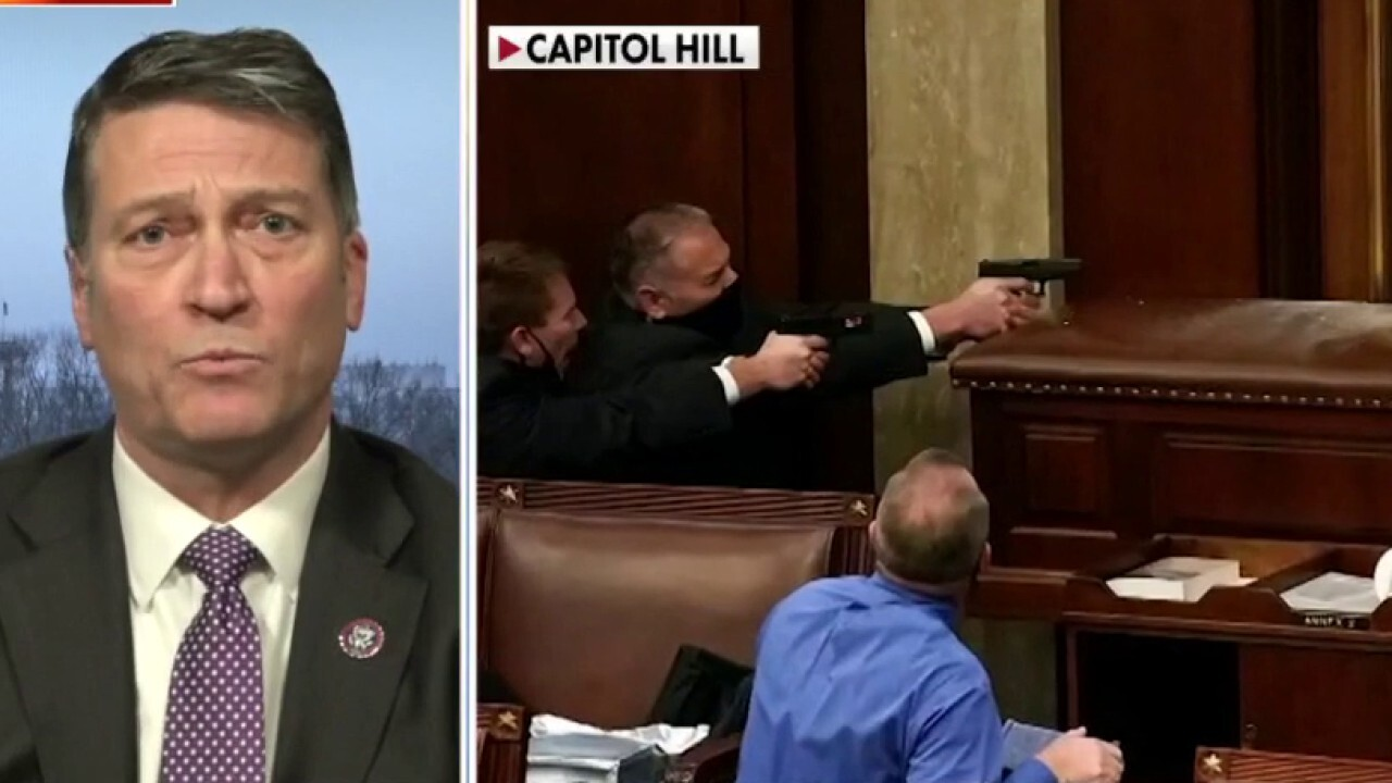 Rep. Jackson describes making makeshift weapons as Capitol rioters overran police