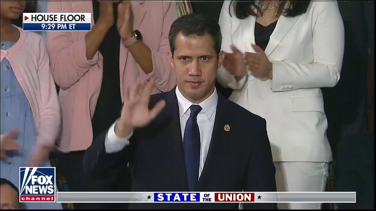 Trump honors US-recognized Venezuelan President Guaido at State of the Union