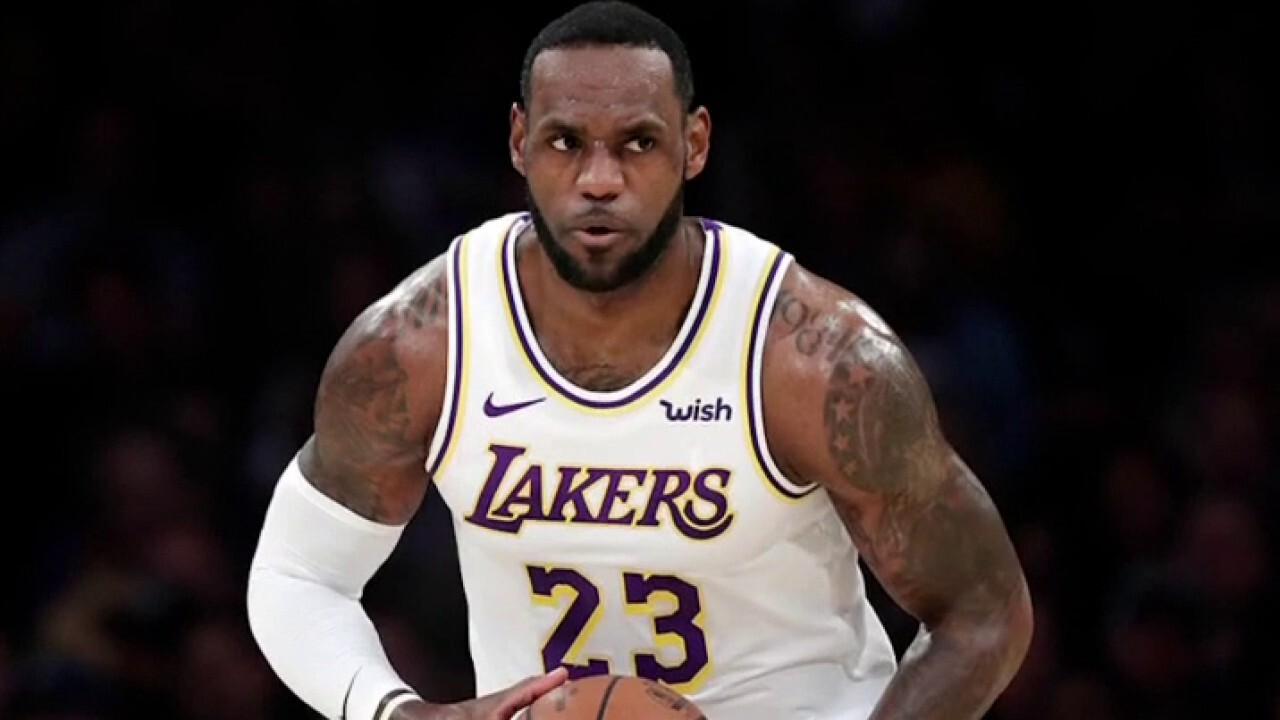 Lebron James faces backlash over controversial police tweet