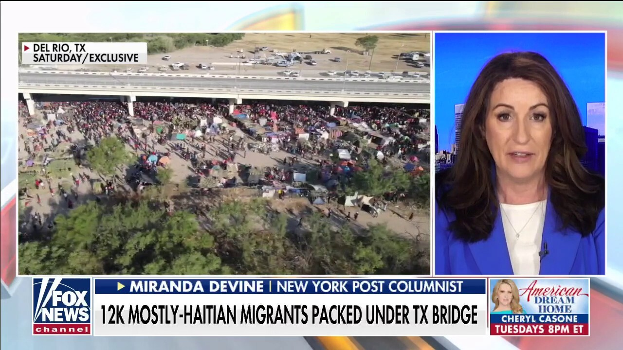 Most Haitians at border will stay in America, disappear into communities: Miranda Devine