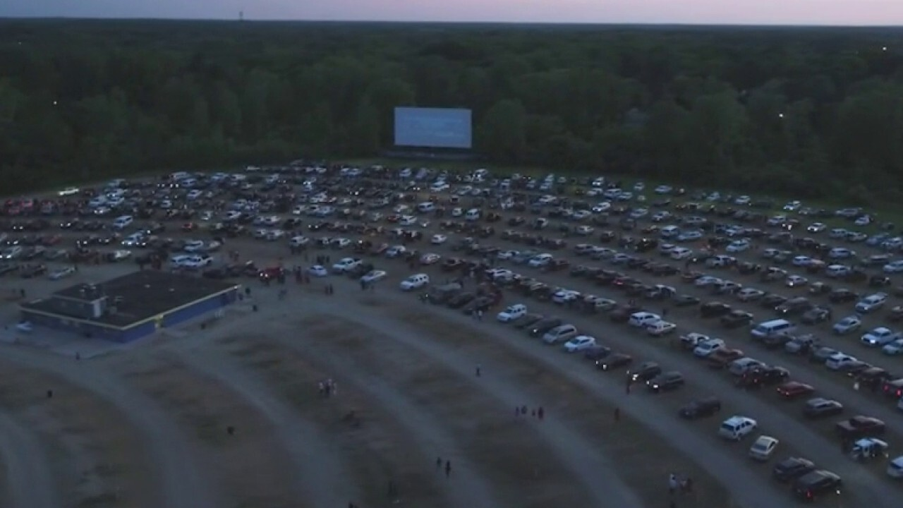 Michigan high school holds drive-in graduation ceremony amid coronavirus pandemic
