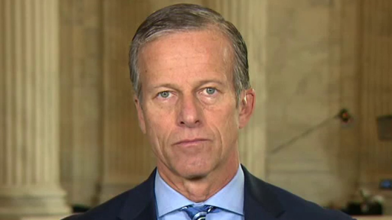 Sen. Thune: Democrats are doing everything they can to protest Barrett vote
